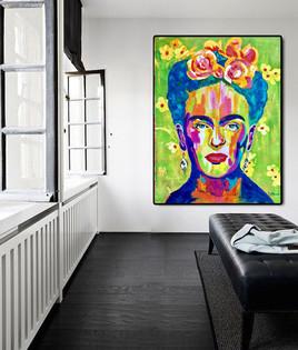 Frida KAHLO «Flowers»