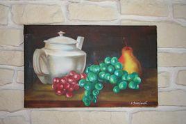Fruits de saison et thé
