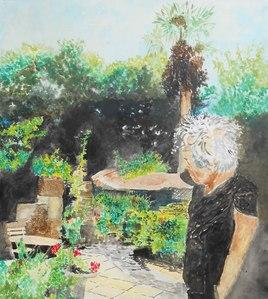 le peintre et le peindre immergé