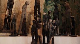 Pascale Fournier, Matières Calcinées, 2007/2008