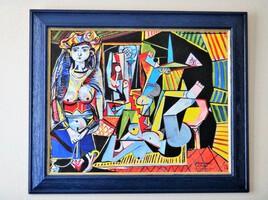 """Copie """"Les Femmes d'Alger"""" de P. PICASSO"""