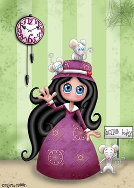 Hello Baby !!! by Myria-Moon