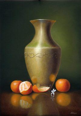 Cuivre et mandarines