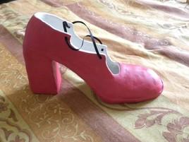 la chaussure de Karine