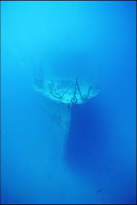 Navire échoué