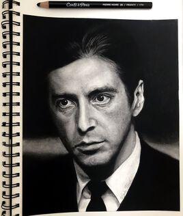 Al Pacino aka Michael Corleone