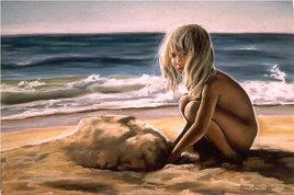 Le tas de sable