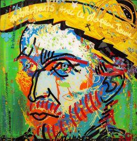 Van Gogh autoportrait au chapeau jaune