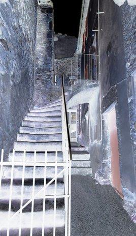 Escalier de nuit