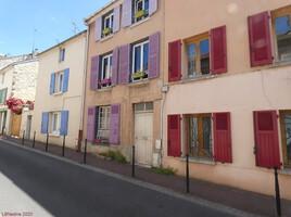 façades colorées à Conflans St Honorine..