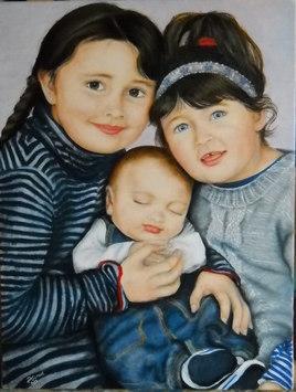 Juline , Louane et Noham