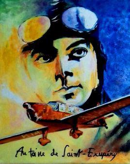 écrivain...poète.....aviateur....