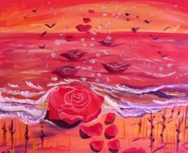 allégorie de la rose