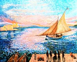 Le canot des six capitaines