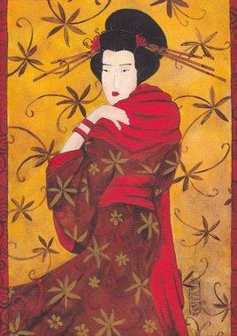 Melancolie automnale geisha