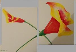la fleure lumière