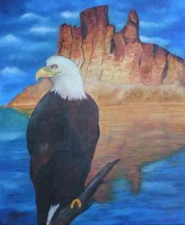 L'aigle et sa montagne