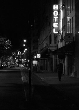 Paris by night : ma chapelle