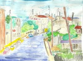 D102 Petite ville des années 50