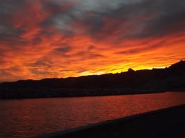"""Hier soir de ma """"terrasse"""" j'ai regardé le ciel se peindre!"""