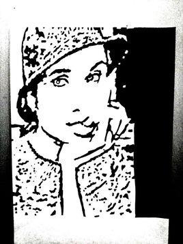 Portrait de Angelina Jolie