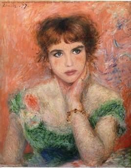Jeanne Savary d'Auguste Renoir revisitée par Adjani..