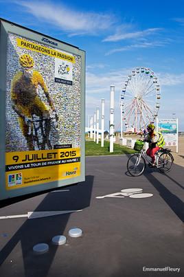 Le Havre à l'heure du tour de France 2015