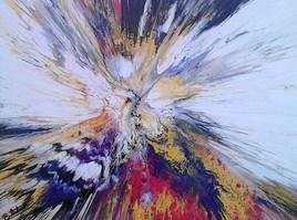 peinture abstraite composition 11c