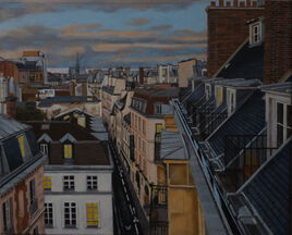 les toits de la rue Hautefeuille (2019)