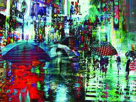 Sous la pluie 42 St