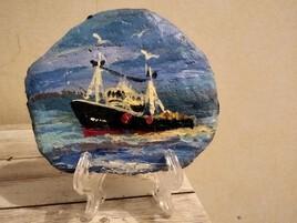 Bateaux de pêche  espagnol pays Basque
