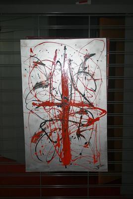 Peinture ORANGE CROSS