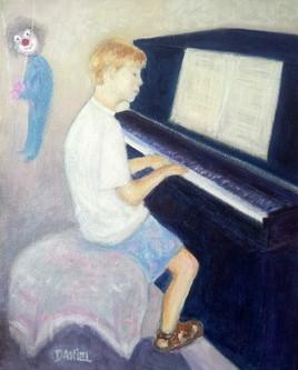 Pablo au piano
