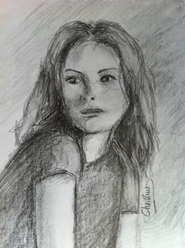 Fusain et crayon B8