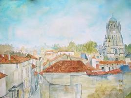 cathédrale de Saintes