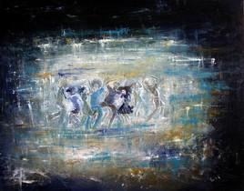 Danser en bleu