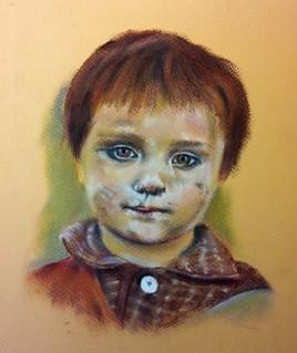 Petite réfugiée  Afghane