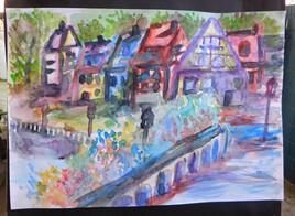 Village en Alsace 2.