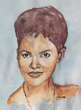 Portrait Halle-Berry