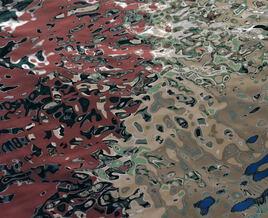 Reflets dans un canal vénitien