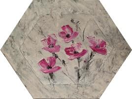 Marbré fleurie