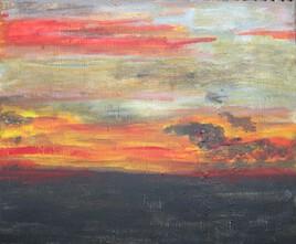 soir d'orage sur la Plaine des Cafres
