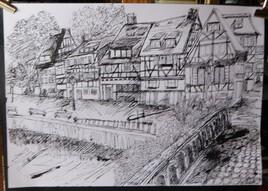 Village en Alsace.