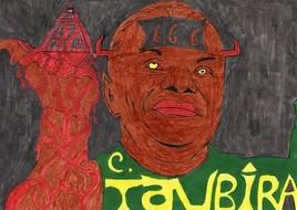 caricature C .Taubira