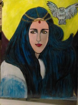 Alwena (déesse et femme)