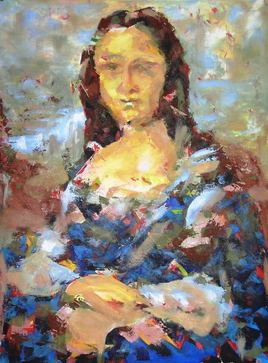 Mona Lisa assassinée au couteau