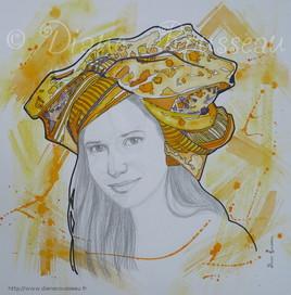 Le turban d'eau jaune