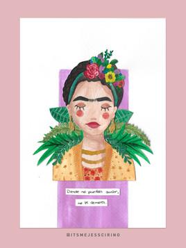Aquarelle Frida Kahlo | Originale