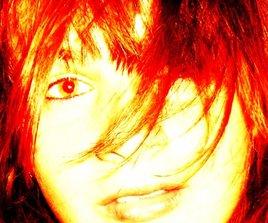 visage de feu