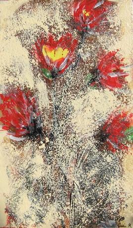 fleurs de feu